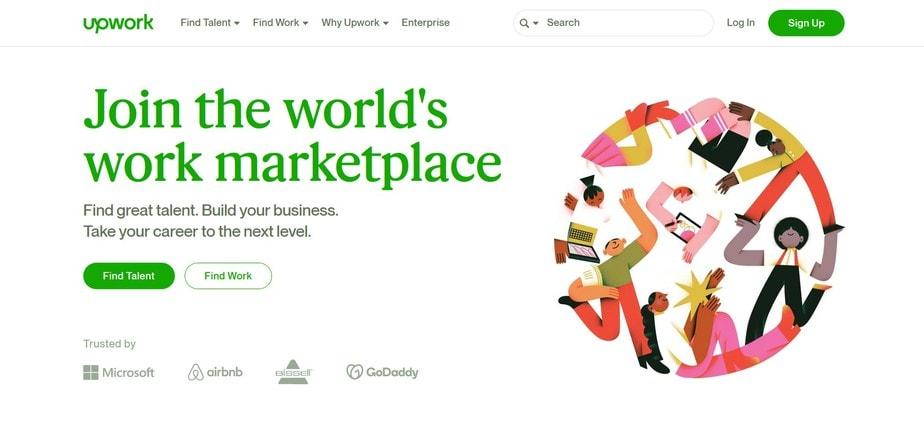 best-freelancing-websites-upwork