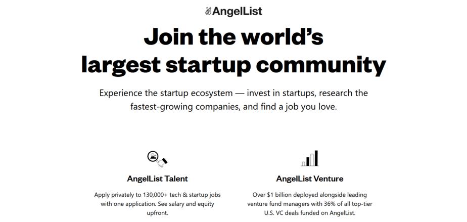 angellist sites similar to upwork