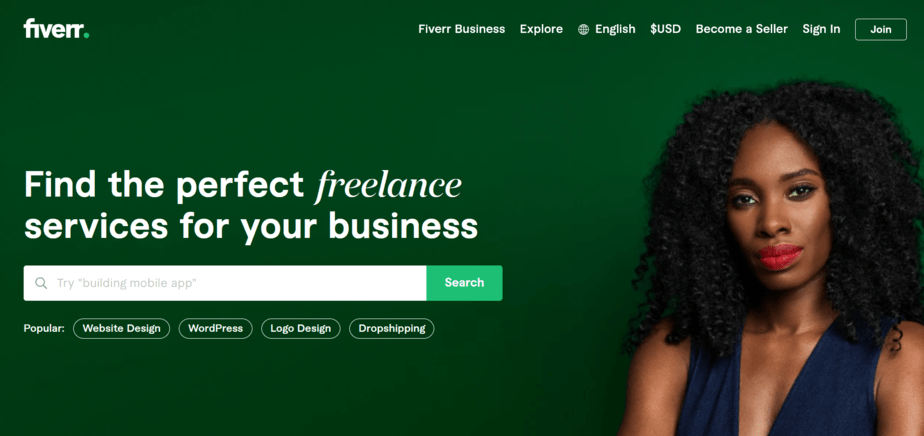 freelance sites like upwork fiverr