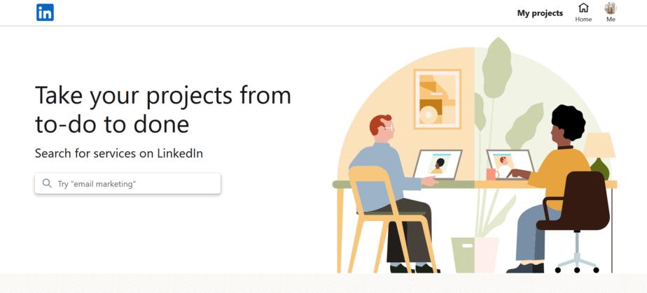 linkedin marketplace websites like upwork