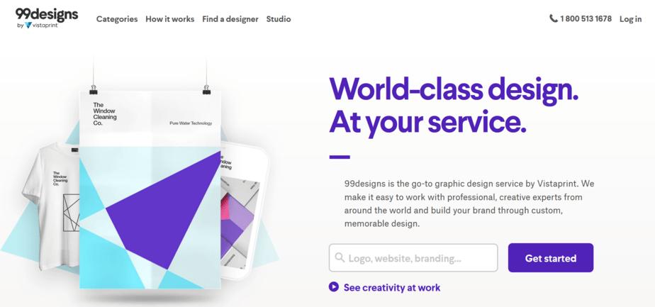 websites like upwork 99designs